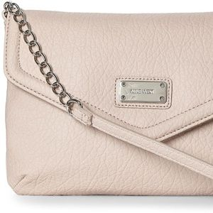NINE WEST Super Cute Pink Crossbody Chain Handbag